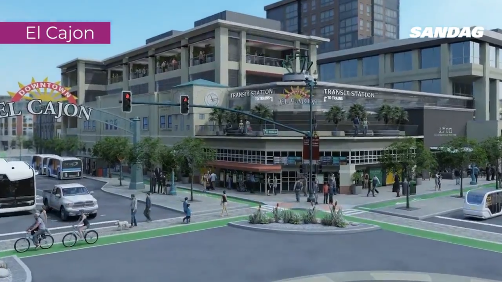 Sandag Project Rendering