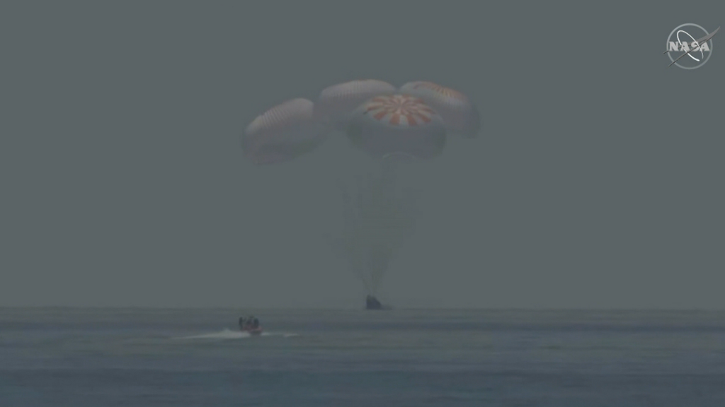 Spacex Landing On Oncean