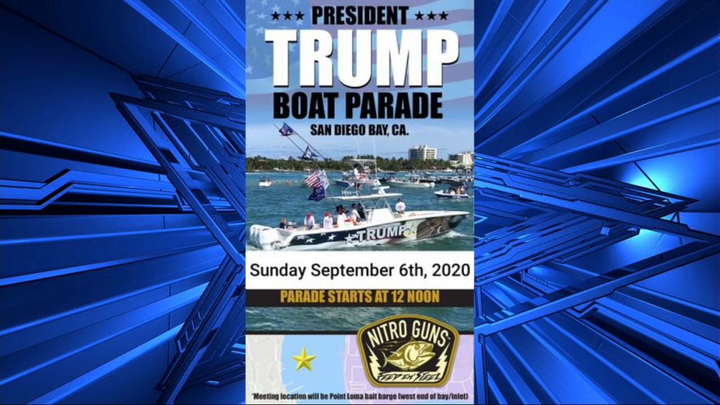 Trump Boat Parade 2020 Sep 6