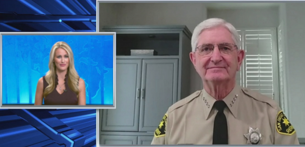 Sheriff Gore On Valley Fire Evacuations