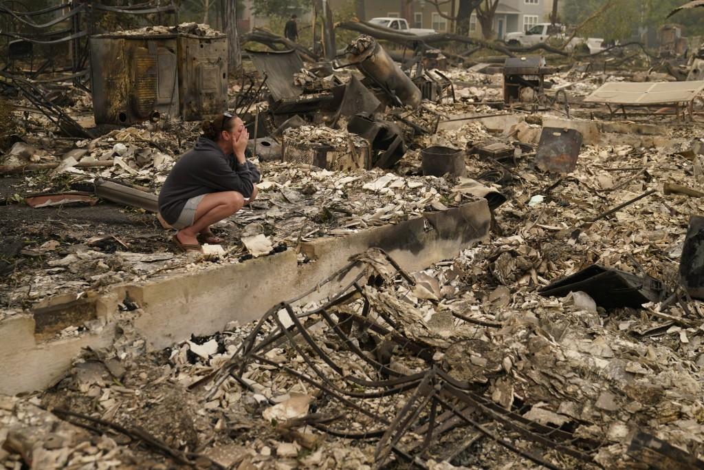 Aptopix Pacific Northwest Wildfires