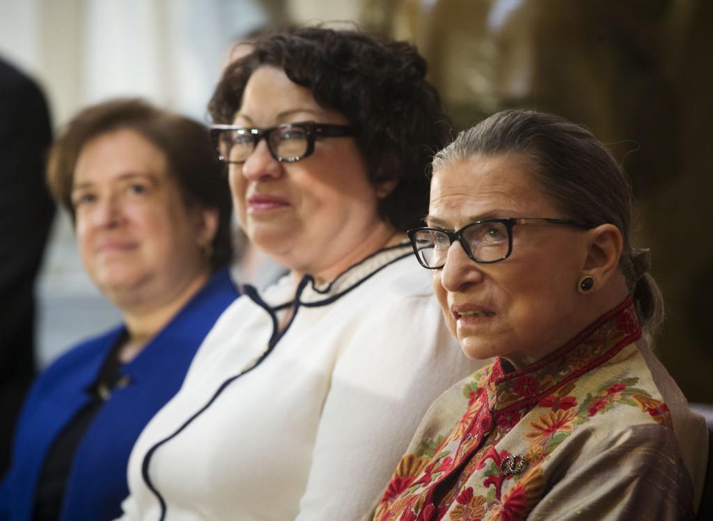 Ruth Bader Ginsburg, Sonia Sotomayor, Elena Kagan