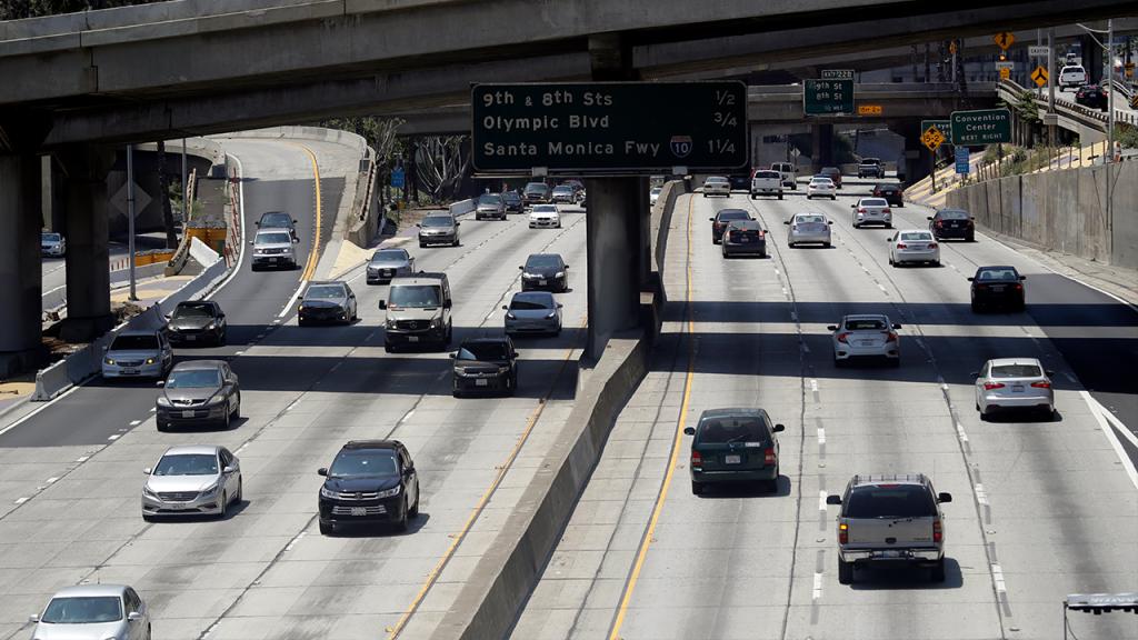 California Traffic Freeway