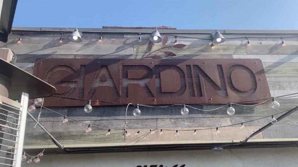 Giardino Restaurant Covid 19