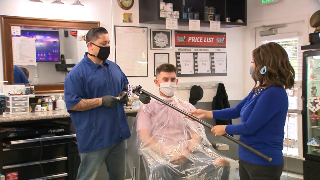 Barbershops Reopen