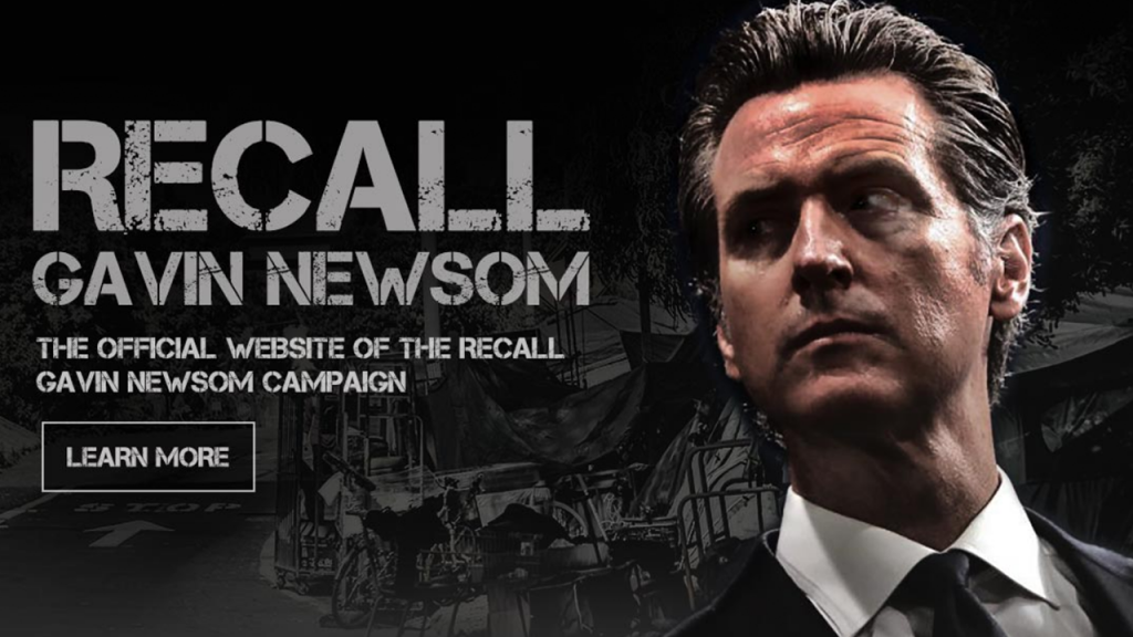 Recall Gavin Newsom Website