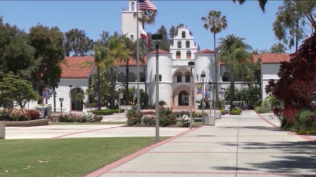 San Diego State Campus Empty