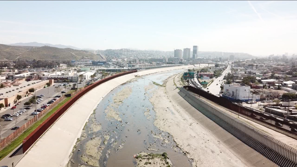 Tijuana River Valley Drone