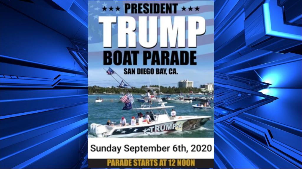 Trump Boat Parade Flyer