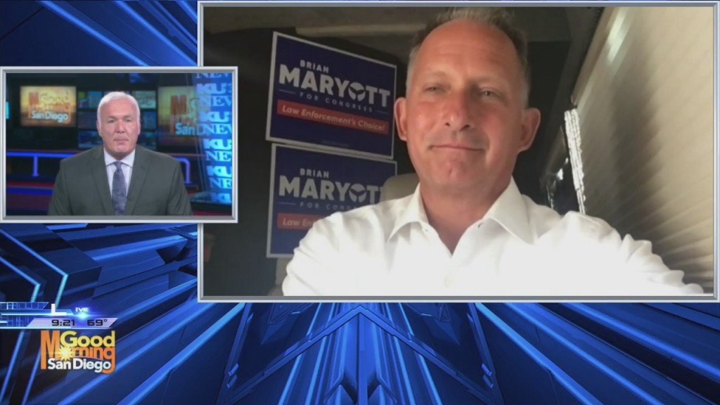 Brian Maryott Discusses Campaign's Momentum To Replace Rep. Mike Levin