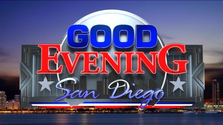 Good Evening San Diego Logo