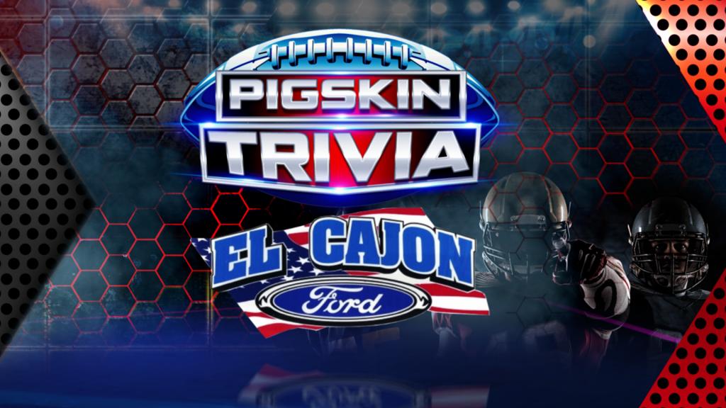 Pigskin Trivia El Cajon