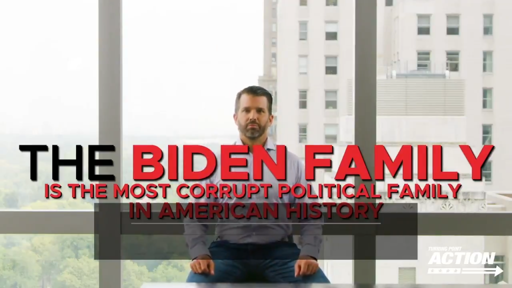 Biden Family Trump Jr Video