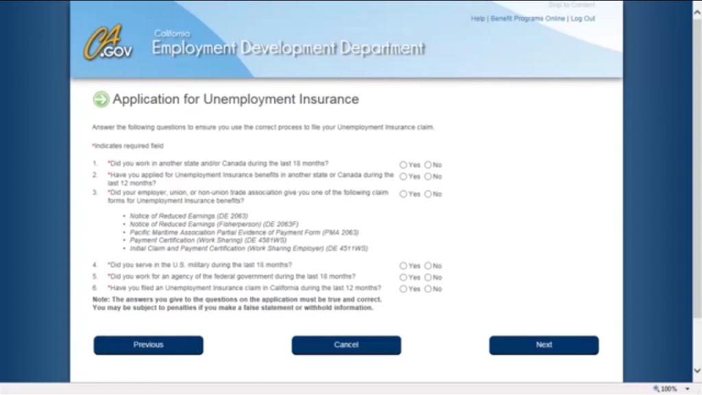 Edd Unemployment Verification
