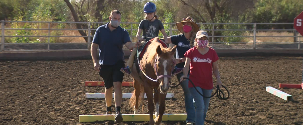 Sunshine Ranch Therapeutic Riding Teaches Horseback Lessons To Those With Special Needs