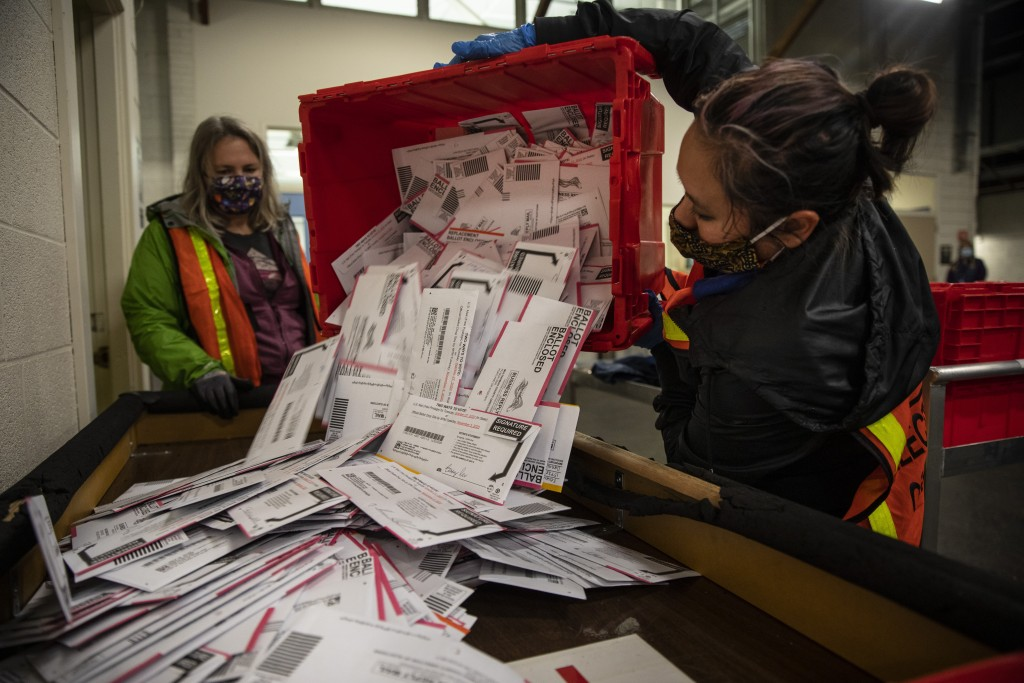 Aptopix Election 2020 Oregon Voting