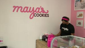 Maya's Cookies Inside