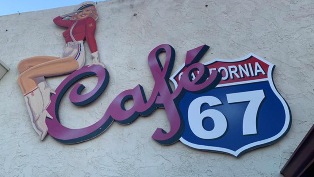 Cafe 67 Lakeside Logo Featured