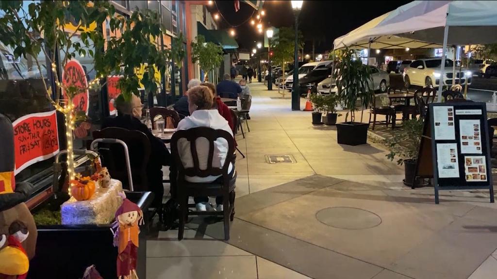 Mangia Italiano Chula Vista Outdoor Seating