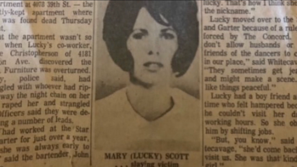 Mary Scott Newspaper