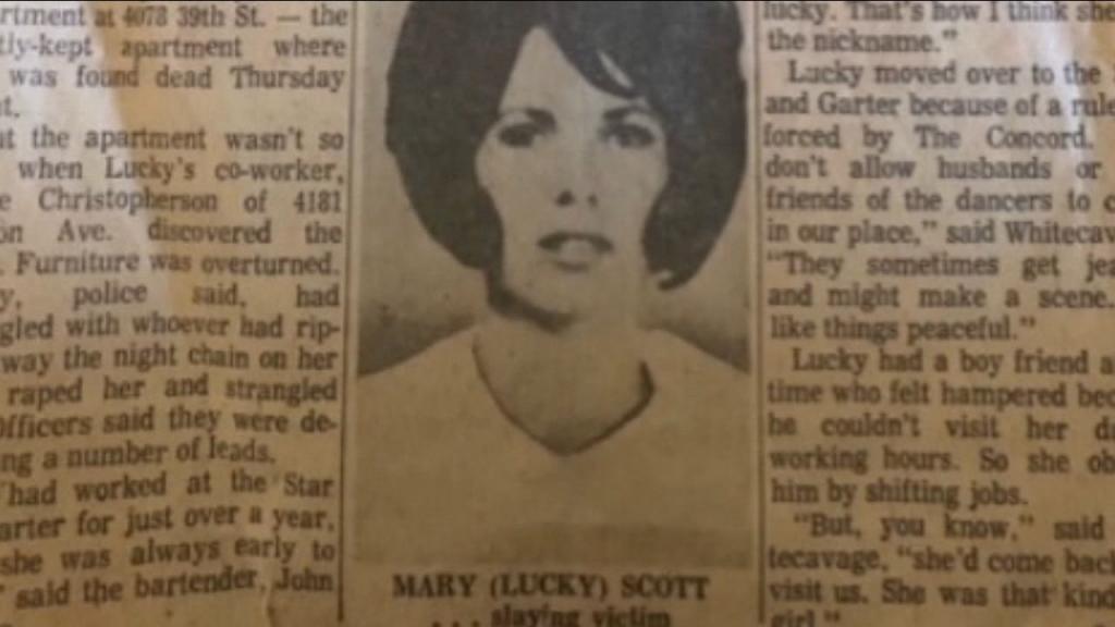 Mary Scott Newspaper