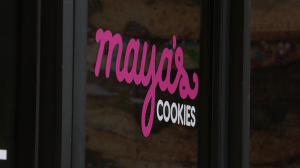 Maya's Cookies Logo