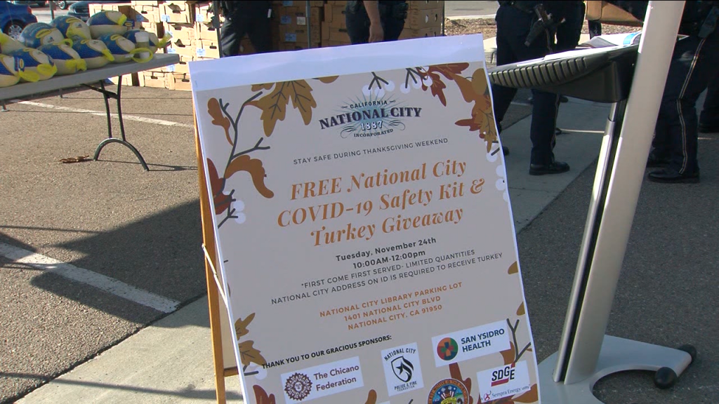 National City Turkey Giveaway