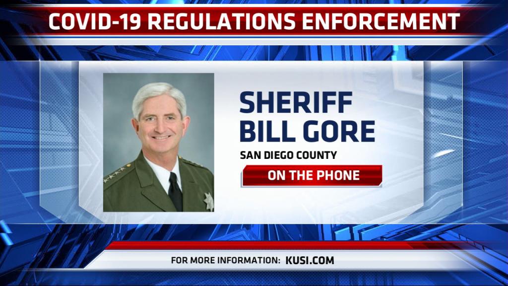 Sheriff Gore Covie Enforcement Phoner