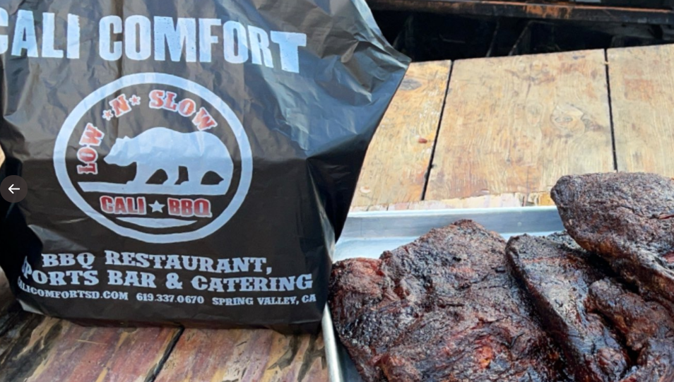 Cali Comfort Bbq Is Open Nye And New Years Day For Take Out And Delivery