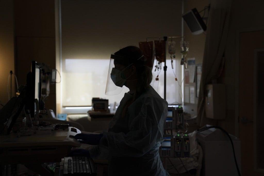 Virus Outbreak California Staffing Shortage