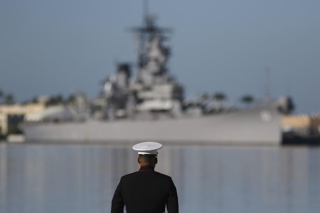 Aptopix Pearl Harbor Anniversary