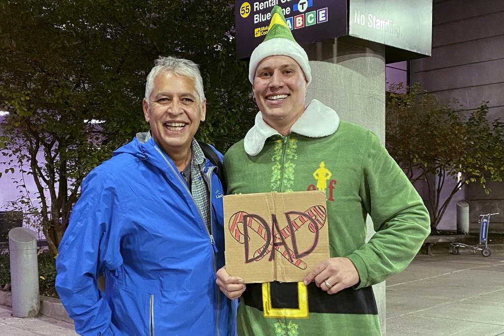 Buddy Meets Dad