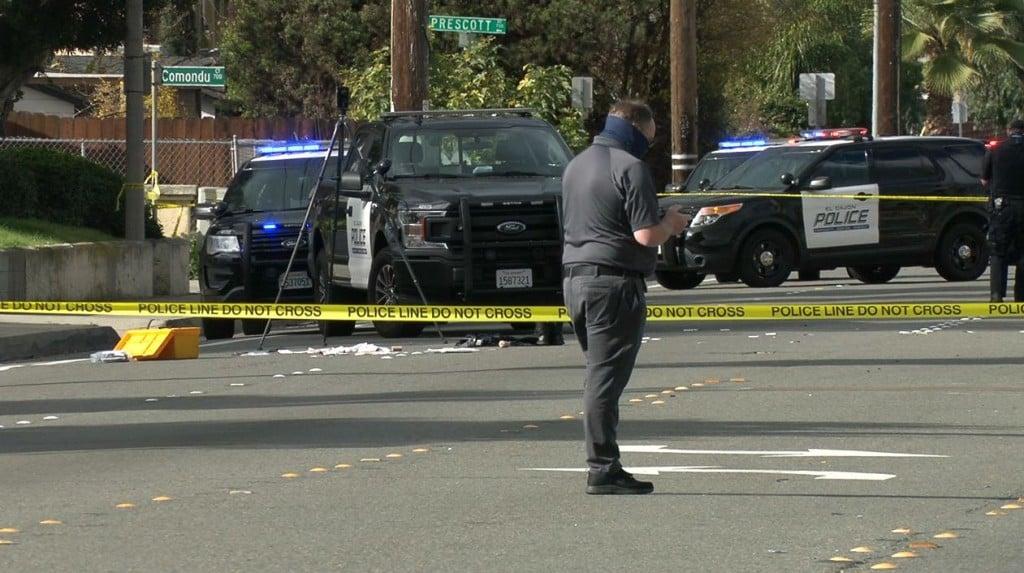 El Cajon Police Hit