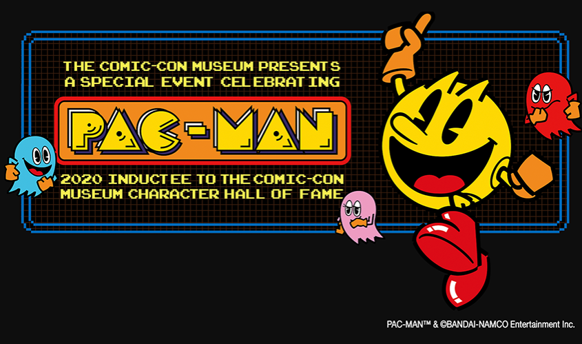 Pac Man Comic Con Hall Of Fame