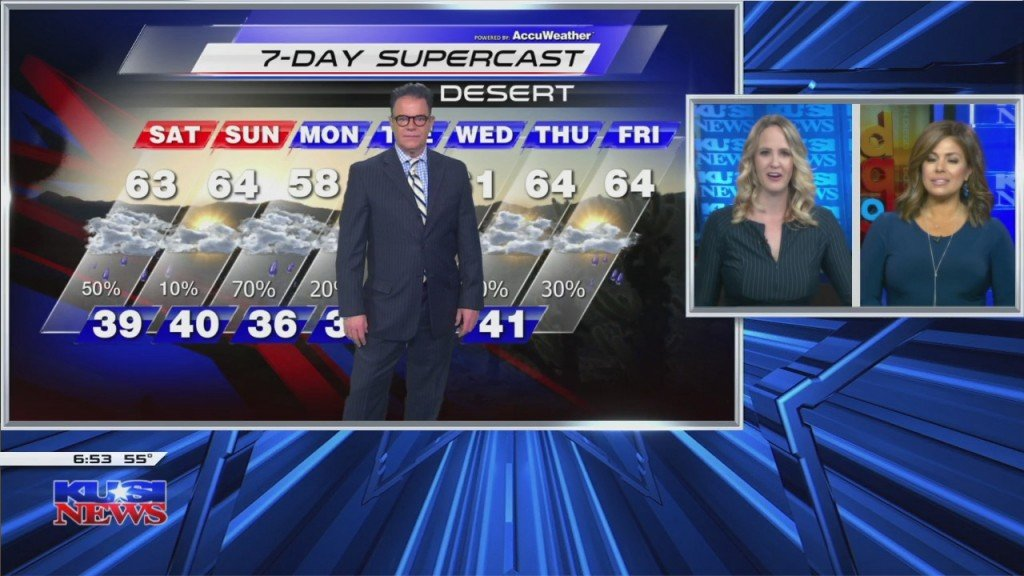 Mark's Full Saturday Forecast