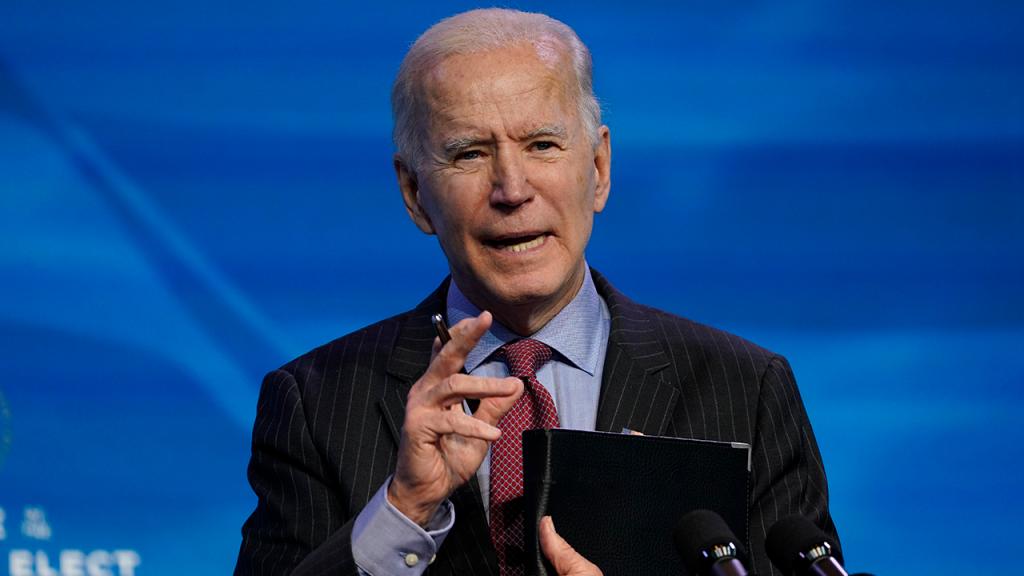 Joe Biden Coronavirus Relief Plan