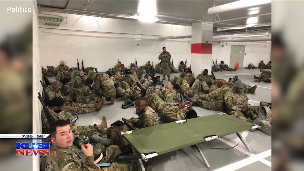 Troops Sleeping On Floor