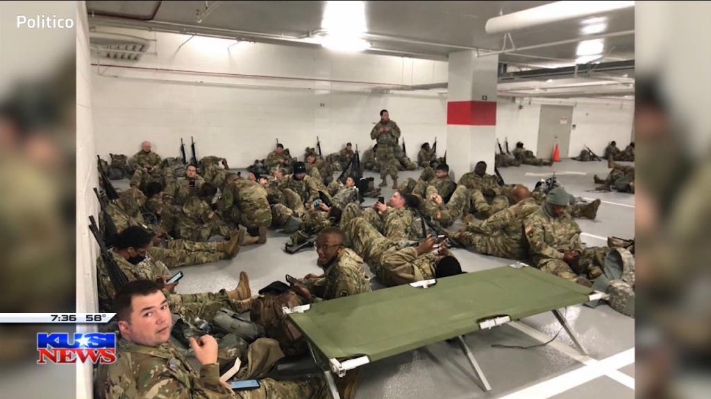 Troops Sleeping On Floor
