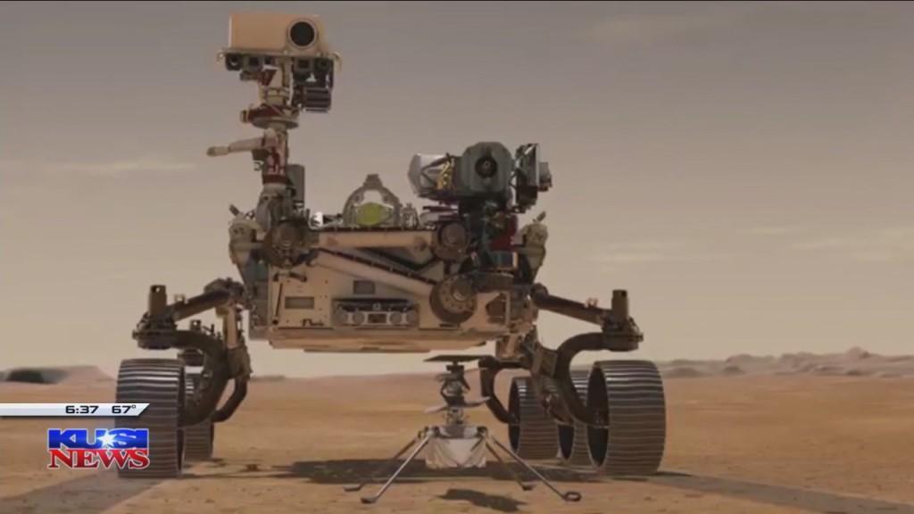 Dave's World Of Wonder Perserverance Rover