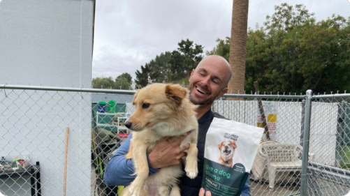 Coronado Mayor, Richard Bailey Introduces Knick Knack Paddy Whack, Give A Dog A Home