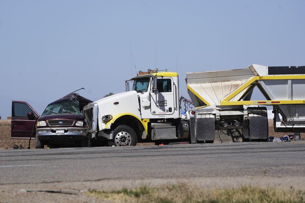 California Highway Crash