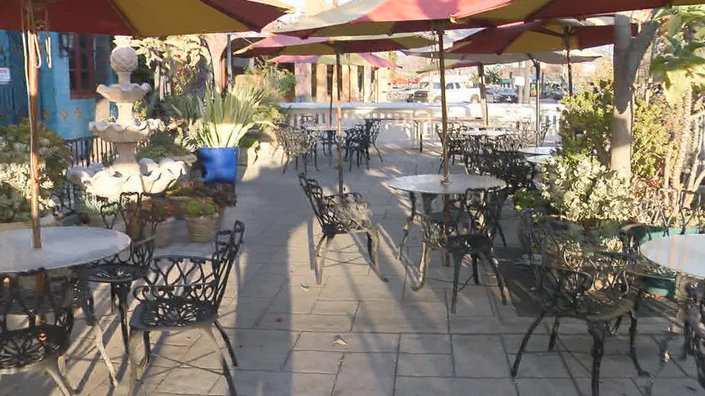 Empty El Cajon Restaurant
