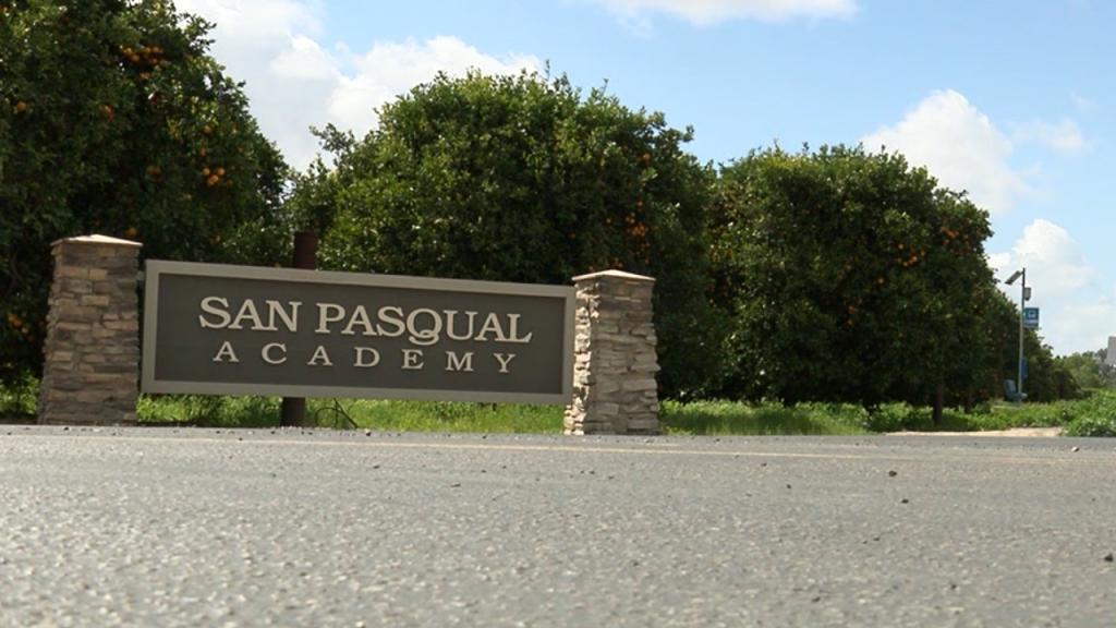 San Pasqual Academy Sign