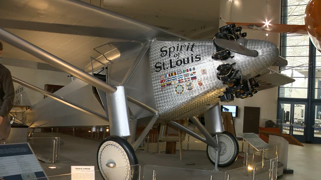Spirit Of St Louis Plane