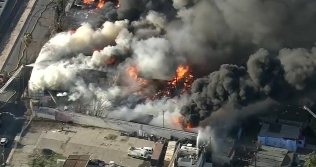 Compton Fire