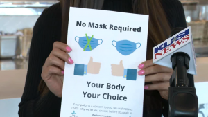 """Owner Of 'the Village Sd' Implements """"your Body, Your Choice"""" Mask Policy"""
