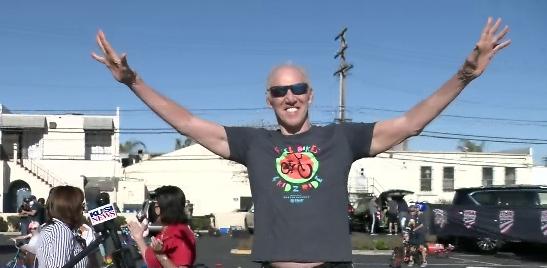 Bill Walton Hosts Free Bikes 4 Kidz Ride Fundraiser In Chula Vista