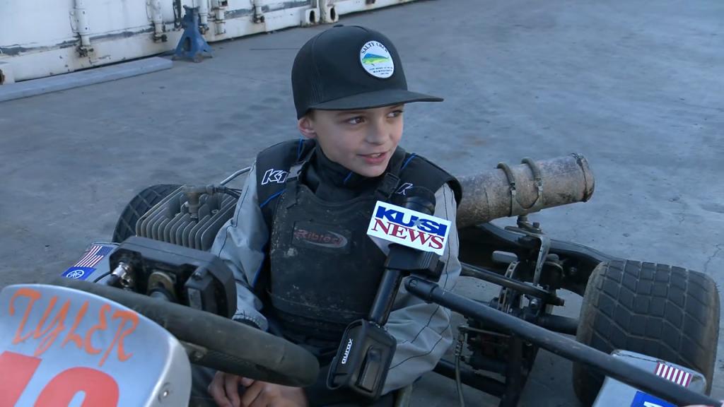 El Cajon Go Kart Kid