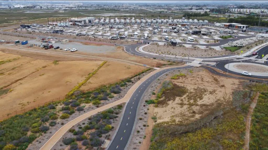 Chula Vista Bayfront Rv Resort And Bike Path