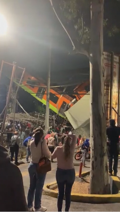 Mexico Metro Crash